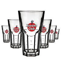 6 x Havana Club 0,3l Glas / Gläser, Cocktailglas, Markenglas, Longdrinkglas NEU