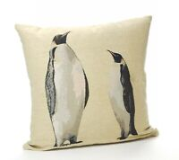 Tapestry Penguin Cushion Cover Priced to Clear