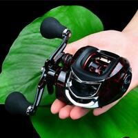 High Speed Bait Casting Fishing Reel 20 Ball Bearings 7:1:1 Lure Wheel Stainless