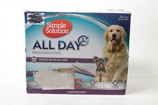 Simple Solution All Day Premium Dog and Puppy Pads with lav 10243-1P - Preowned