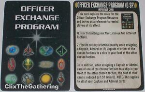 Officier Exchange Programme A Matter De Honor Op Star Trek Attack Wing
