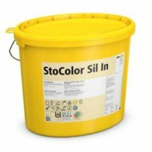 Sto Sil In-3 Eimer-Weiß a 15Liter-Neu,Innenfarbe,Wandfarbe,Innensilikatfarbe