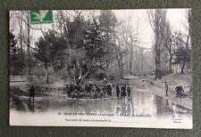 CPA. Bois de VINCENNES. 94 - Pêche à la Grenouille. Souvenir de Promenade. 1914.