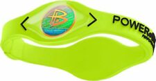 Authentic Power Balance Silicone Wristband - Volt/Grey - Small