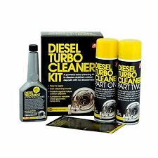 Diesel Engine Turbo Cleaner Cures Limp Home Mode Variable Vane Turbos
