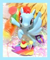 "❤️My Little Pony 3"" Brushable SEAPONY Movie Collection Rainbow Dash Mermaid G4❤️"