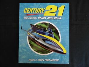 Century 21 Classic comic Strips Gerry Anderson Softcover vol 3 (b14) Thunderbird