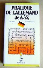 Livre Pratique de l' Allemand de A à Z /R45
