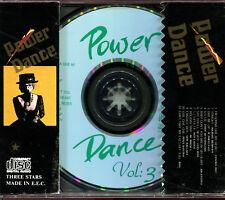 POWER DANCE VOL.3 (SIMILAR FACE RECORDS) ITALO DISCO REMIX 80'S - CD COMPILATION