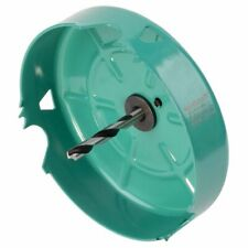 wolfcraft Hole Saw 127mm Carbon Steel Turquoise Drill Accessory Tool 5973000