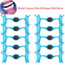 10pcs Dental Orthodontic Intraoral Mouth Open M Shape Lip Cheek Retractor Mirror