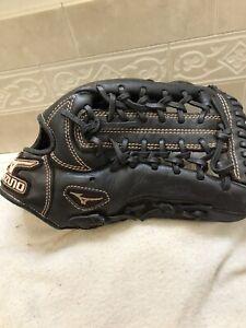 """Mizuno GMVP-1277P 12.75"""" Youth Baseball Softball Glove Right Hand Throw"""