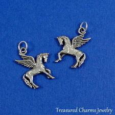 Silver PEGASUS Magic Winged Horse CHARM PENDANT