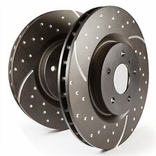 EBC Brakes GD7520 EBC 3GD Series Sport Slotted Rotors Fits Camaro G8 Regal SS
