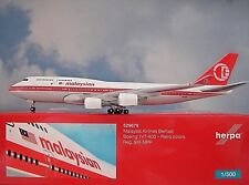 Herpa Wings 1:500 Boeing 747-400 Malaysian  9M-MPP  529679  Modellairport500