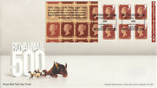 (52669) GB FDC Penny Red Booklet London EC4Y 2016