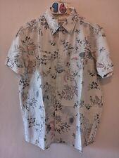 (16) Men's Urban Spirit Hawaiian style floral shirt XL