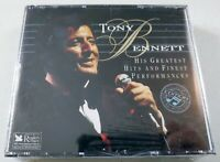 Tony Bennett: His Greatest Hits & Finest Performances - 3 Disc Music CD