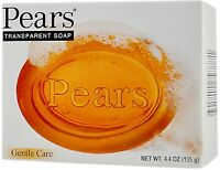 Pears Gentle Care Transparent Bar Soap 4.4 oz (Pack of 5)