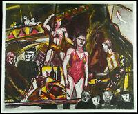 DDR-Kunst, 1988. Radierung/Vernis mou Michael AUGUSTINSKI (* 1946), handsigniert