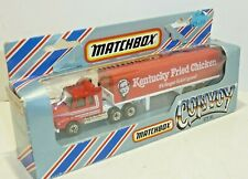 "Matchbox Convoy CY-16 Scania Box Truck- ""Kentucky Fried Chicken"", boxed"
