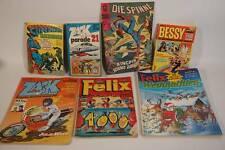 Konvolut Vintage Comics Superman Zack Lucky Luck Fix Foxi Felix Die Spinne usw.