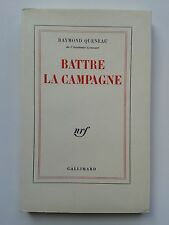 "Raymond QUENEAU "" Battre la campagne "" E.O. NUMEROTéE 1/105 Vélin, 1968"