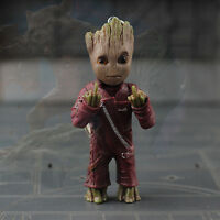 Marvel Guardians of the Galaxy Vol. 2 Groot Key Chain Ver Figure Statue 7.5cm G4