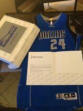Richard Jefferson Dallas Mavericks Game Used NBA Playoff Jersey MeiGray Cert