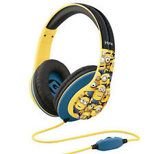 Minions Over-the-Ear Headphones with Volume Control Refresh Despicable Me Ihome