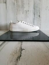Coach White Leather Low Top Shoes G1521 Men's Size 11