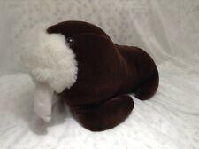 """Sea World Walrus Vintage Plush 17"""" Large Stuffed Animal"""
