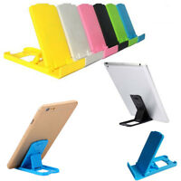Adjustable Multi-angle Table Folding Stand Holder Mount For iPhone Cell Phone CA