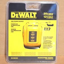 ORIGINAL Genuine DeWalt USB Power Source DCB090 12v / 20v DEWALT Authentic NEW