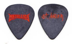 Metallica St. Anger Black Guitar Pick #2 - 2004 Tour