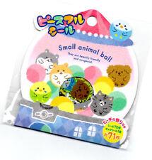 Mind Wave Japan Kawaii Sticker Sack stickers flakes seals Small Animal Ball