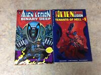 ALIEN LEGION BINARY DEEP & TENANTS OF HELL #1 LOT OF 2 COMIC  NM 1993 EPIC