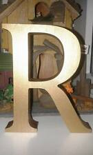 Multipack: 20 Wooden Letters, Any A-Z, 13cm Large Letters