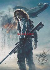 Sebastian Stan Bucky Barnes Avengers Infinity War Signed 8x10 Autographed Photo
