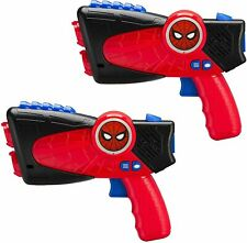 Spiderman Infrared Light Up Laser-Tag Blasters for Kids, Hassle Free Packaging