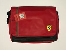 SCUDERIA FERRARI Red Messenger Bag