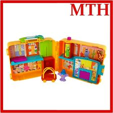 Cbeebies THE FURCHESTER Hotel Suitcase Play House Playset Figures - VGC