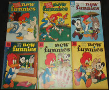 VINTAGE GOLDEN AGE DELL NEW FUNNIES COMIC LOT 12PC (VG-F)