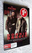Donnie Brasco (DVD, 2008) REGION-4, LIKE NEW, FREE SHIPPING WITHIN AUSTRALIA