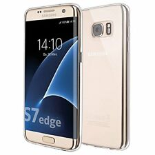 Cell phone case cover Jelly clear transparent slim for Samsung S7 edge