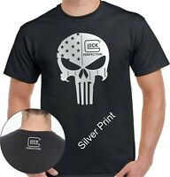 GLOCK PERFECTION PUNISHER FIREARMS T-SHIRT - UNISEX TEE HIGH QUALITY