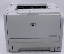 HP LaserJet P2035N Workgroup Monochrome Laser Printer w/o Toner TESTED