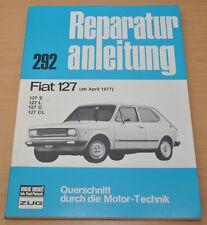 FIAT 127 S L C CL ab April 1977 Bremsen Kupplung Motor Reparaturanleitung B292