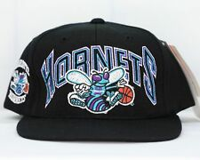 "VINTAGE 1990's ""DREW PEARSON"" CHARLOTTE HORNETS SNAPBACK CAP NWT nba"