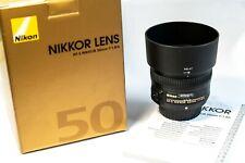 Nikon AF-S 50mm F1.8 G - Objetivo para Nikon (distancia focal fija 50mm)